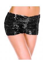 Black Sequin short