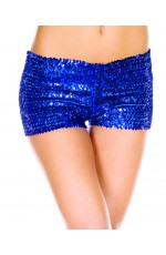 Blue Sequin short