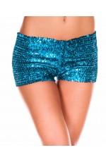 Light Blue Sequin short