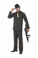 Mens 20s Gangster Licensed Costume