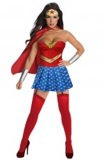Ladies Wonder Super hero Costume