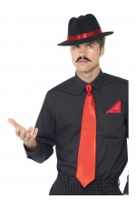 Gangster Instant Red Kit Licensed Costume Accessories