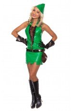 Adult Robinhood Green Goblin Costume