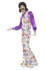 60s Peace Disco 70s 1960s Hippy Hippie Dance Disco Groovy Retro Fancy Dress Up Costume