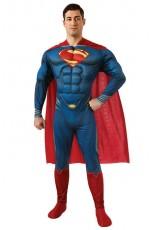 Superman Man of Steel Superhero Adult Costume