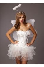 Angel Corset Fancy Dress Costume