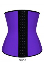 Women Latex Waist Trainer Training Cincher Underbust Corset Shaper Shapewear