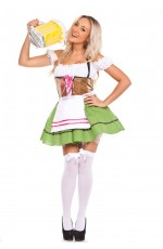 German Beer Maid Fancy Dress