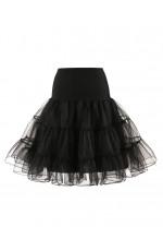 Black Tutu Petticoat Three Layers