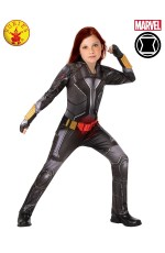 CHILD BLACK WIDOW CIVIL WAR COSTUME