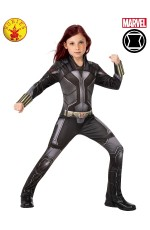 CHILD BLACK WIDOW CLASSIC COSTUME