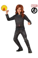 CHILD BLACK WIDOW MARVEL COSTUME
