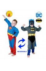 Kids Batman To Superman REVERSIBLE Costume