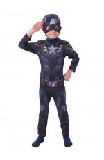 Captain America Winter Soldiers Avengers Boys Child Party Licensed Hero Book Week Costume
