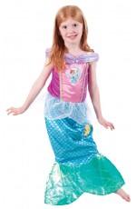 Disney Playtime Mermaid Princess Ariel Book Week Fancy Dress Up Girl Kids Costume