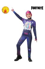 Kids Boys Girls Teen Halloween Cosplay Costume Jumpsuit Brite Bomber Fortnite