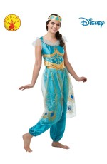 JASMINE LIVE ACTION ALADDIN COSTUME, ADULT