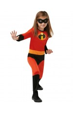 Kids Incredibles 2 Character Costume Hero Padded Jumpsuit
