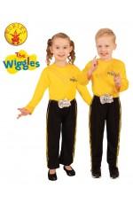 Emma Yellow The Wiggle Child Pants Costume