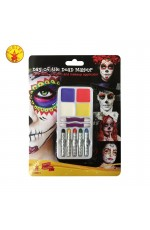 Day of the Dead Make Up Kit cl33666