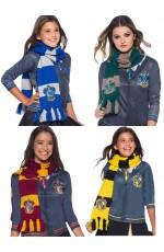 Hufflepuff Ravenclaw Gryffindor Slytherin Hogwarts Houses scarf