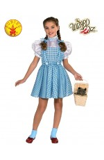 Storybook Licensed The Wizard of Oz Dorothy Child Book Week Dress Costume