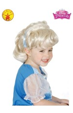 GIRLS CINDERELLA WIG cl4007