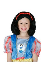 GIRLS SNOW WHITE WIG cl4037
