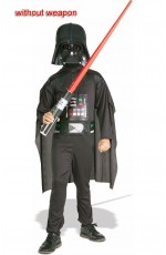 Rubies Kids Childrens Star Wars Darth Vader Black Costume Party Dress Up Boxed