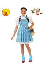 Storybook Licensed The Wizard of Oz Dorothy Adult Ladies Book Week Dress Costume