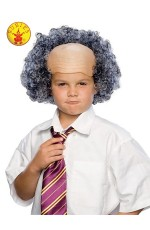 Kids Bald Wig With Grey Curly Sides cl50851