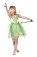 Premium Tinker Bell Tinkerbell Dress Up Girls Halloween Kids Costume