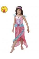 Deluxe Magical Mermaid Princess Girls Fancy Dress Kids Costume