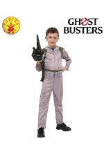 Kids Ghostbusters Ghost Busters Jumpsuit 80s 1980s Child Costume Boys Girls Uniform