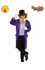 Boys Willy Wonka Chocolate Factory Costume