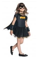 Girls Batgirl Tutu Dress Child Costume