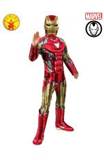 IRON MAN DELUXE COSTUME, CHILD