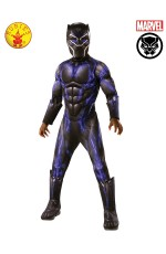 BLACK PANTHER BATTLE SUIT DELUXE COSTUME, CHILD