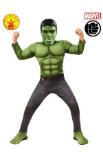 HULK DELUXE COSTUME, CHILD