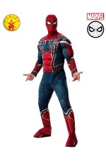 Mens Avengers Endgame Iron Spider Spider-Man Adult Deluxe Muscle Chest Costume