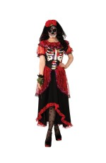 Day of the Dead Ladies Adult Costume