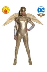 ADULT WONDER WOMAN 1984 GOLDEN ARMOUR COSTUME