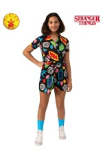 Child Teen Eleven Mall Dress Costume Stranger Things