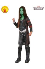 GAMORA DELUXE COSTUME, CHILD