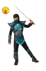 Kids Blue Dragon Ninja Costume