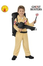 Kids Ghostbusters Costumes with Inflatable pack and light