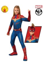 Classic Captain Marvel Hero Avengers End Game Carol Danvers Cosplay Suit