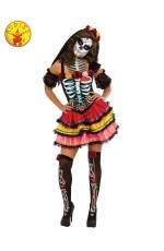 Day of the Dead Senorita Adult Costume