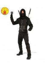 Mens Dark Ninja Karate Warrior Asian Oriental Costume
