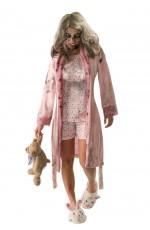 Zombie Costume Halloween Womens Teen Bloody Walking Dead Horror Fancy Dress